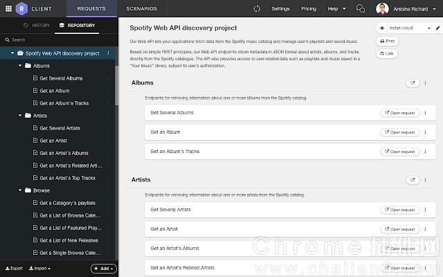 DHC REST Client-可模拟网络请求、测试API