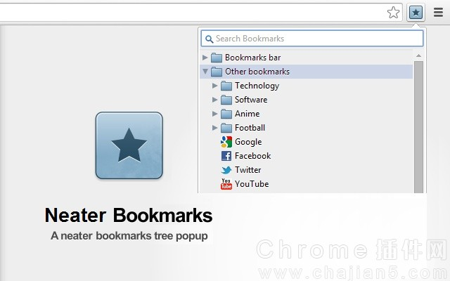 Neater Bookmarks书签管理