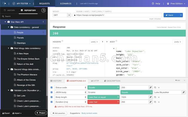 Talend API Tester - Free Edition可视化地与REST、SOAP和HTTP api交互