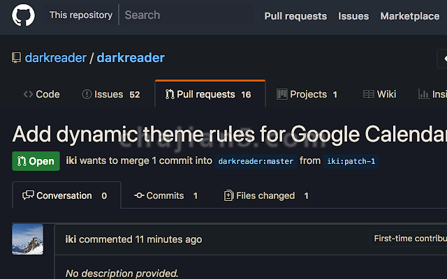 Dark Reader 一个护眼浏览阅读的Chrome扩展插件
