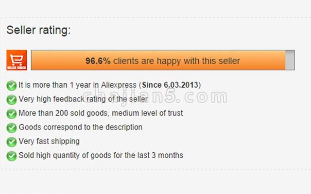 Aliexpress Seller Check 在Aliexpress中查看商品评级及相关商品(提供以图搜图)