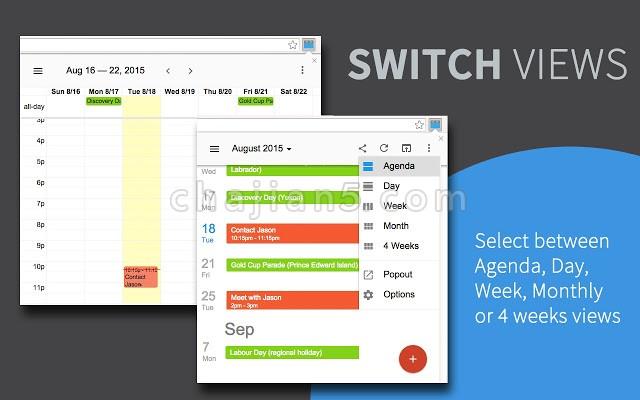 Checker Plus for Google Calendar™连接Google的日历工具更好的分配工作提醒