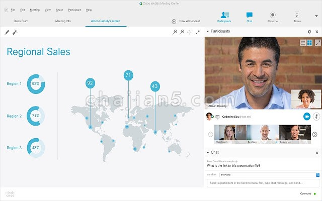 Cisco Webex Extension通过 Google Chrome ™ 加入 思科Webex 会议