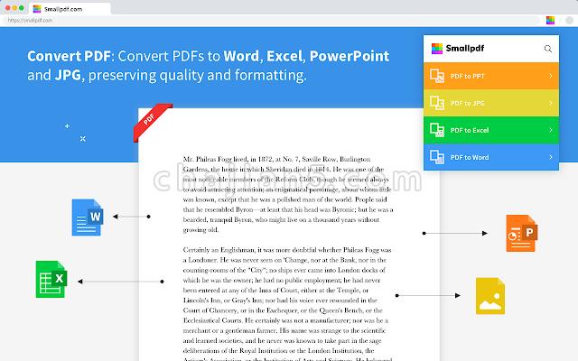 Smallpdf - 编辑、压缩与转换PDF文件