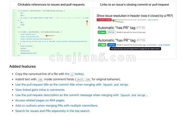 简化 GitHub 界面并实用的浏览器扩展 Refined GitHub