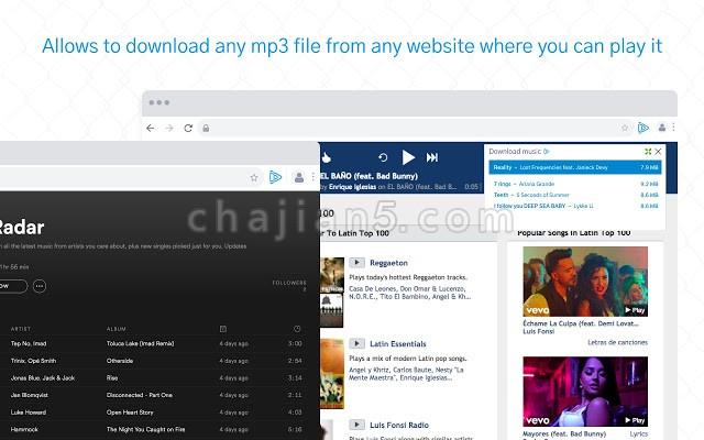 Music Saver网页音频下载工具