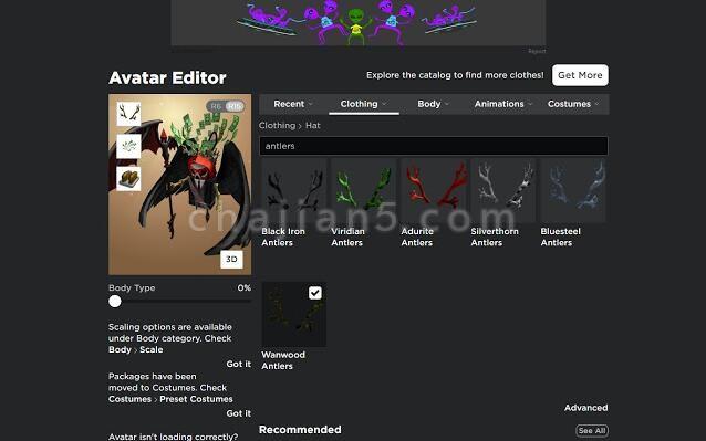 Roblox + 将WebGL3D制作的功能和通知器添加到Roblox网站