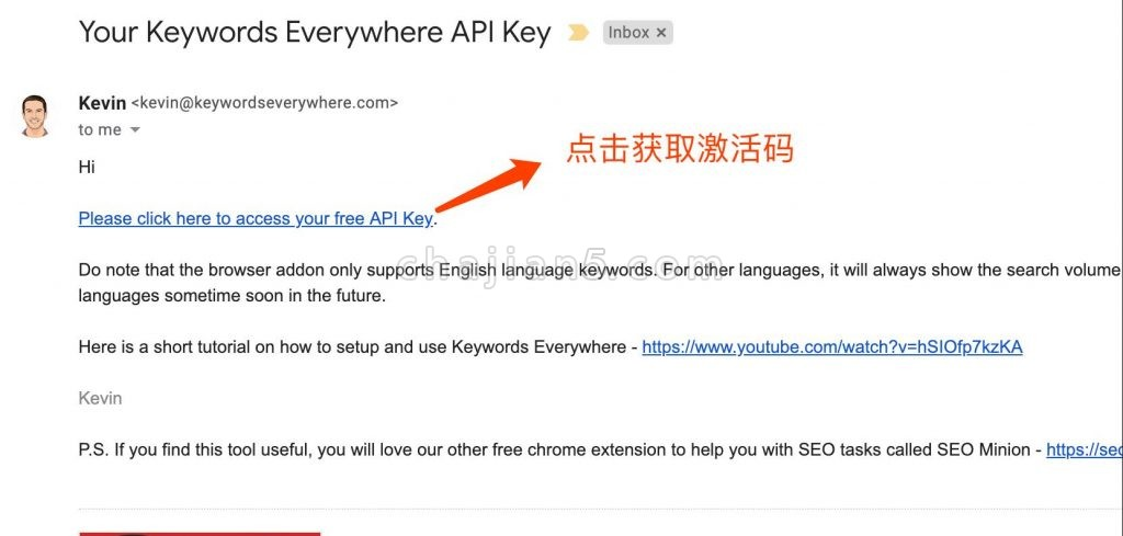 Keywords Everywhere-SEO数据分析工具