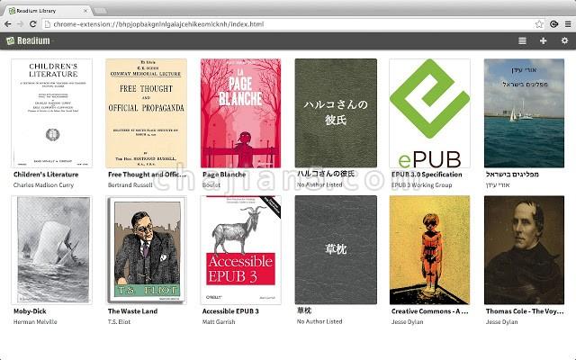 Readium Chrome epub格式电子书阅读器插件