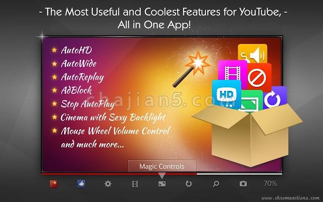 Magic Actions for YouTube™专为油管YouTube定制的便捷工具