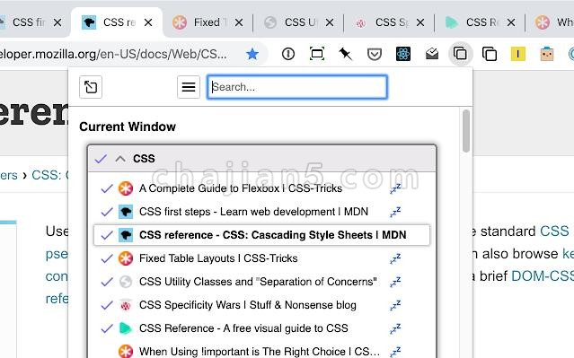 Tabli 网页标签页管理