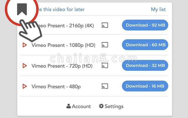 Video Downloader professional 网页视频下载