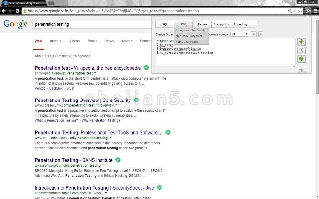 HackBar 安全审核和渗透测试工具