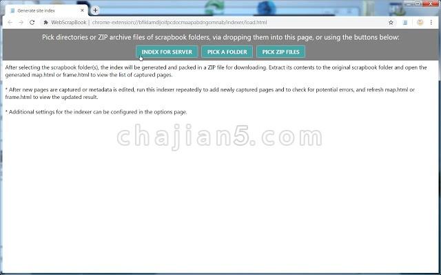 WebScrapBook网页剪贴簿