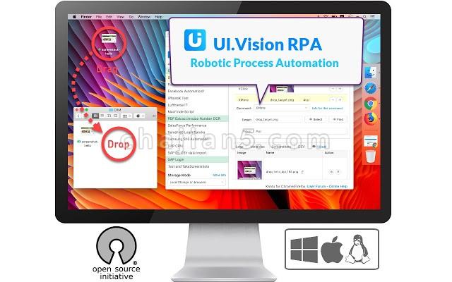 UI.Vision RPA 浏览器自动化工具