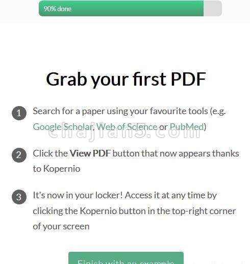 Kopernio - powered by Web of Science学术期刊全文文献获取