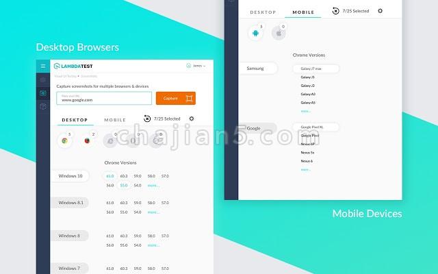 LambdaTest web开发跨浏览器兼容性测试工具
