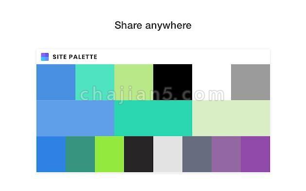 Site Palette获取页面的基本颜色配色
