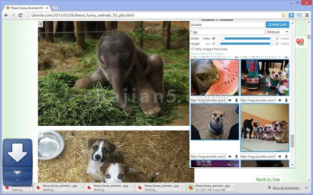 Image Downloader 方便下载网页上的图片