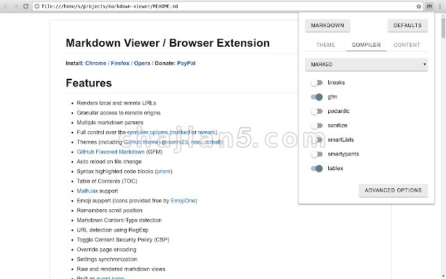 Markdown Viewer(Markdown 阅读器)