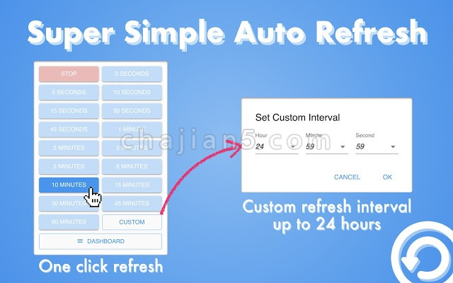 Super Simple Auto Refresh超级简单的自动刷新