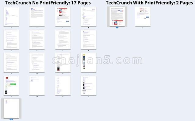 Print Friendly & PDF 自定义打印内容和格式
