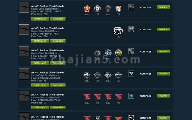 CSGOFloat Market Checker Steam社区市场、库存查询插件