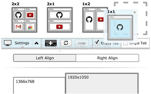 Tab Resize 支持多种格式的网页分屏助手