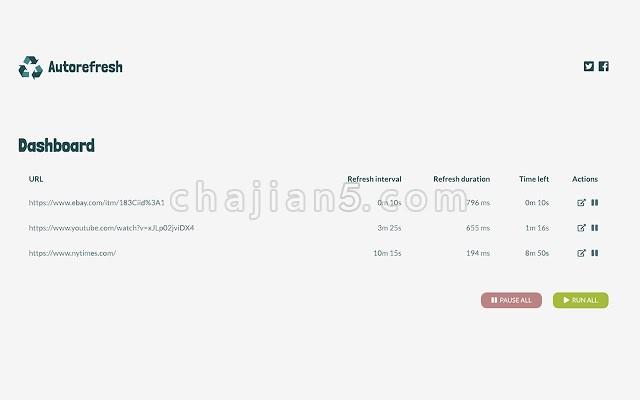 Auto Refresh 网页自动刷新