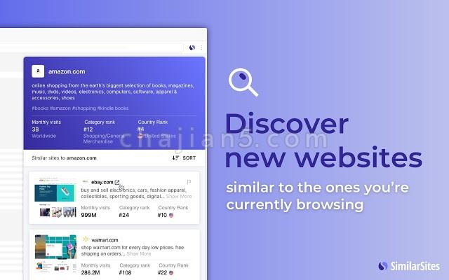 Similar Sites发现互联网上类似的网站 (相关网站)