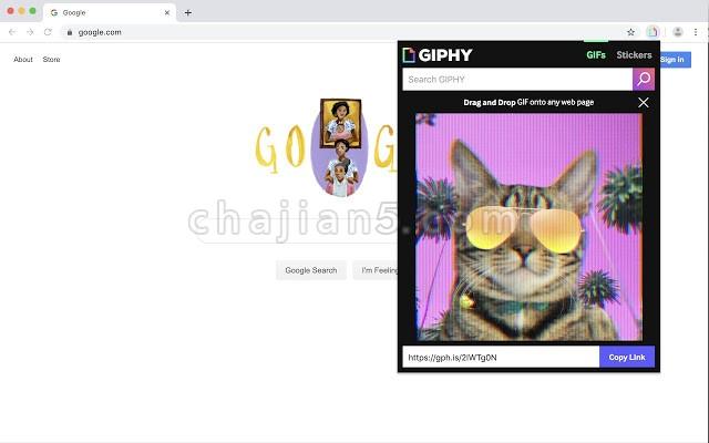 GIPHY for Chrome 随时插入GIF图