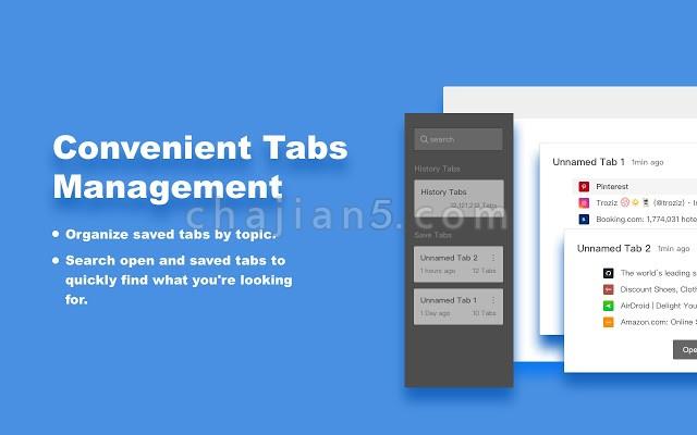 OneTab Plus 标签效率管理扩展