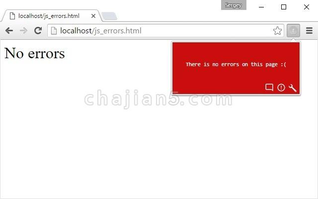 JavaScript Errors Notifier (JavaScript 错误通知的调试工具)