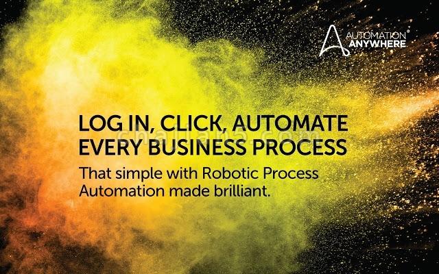Automation Anywhere 机器人流程自动化插件