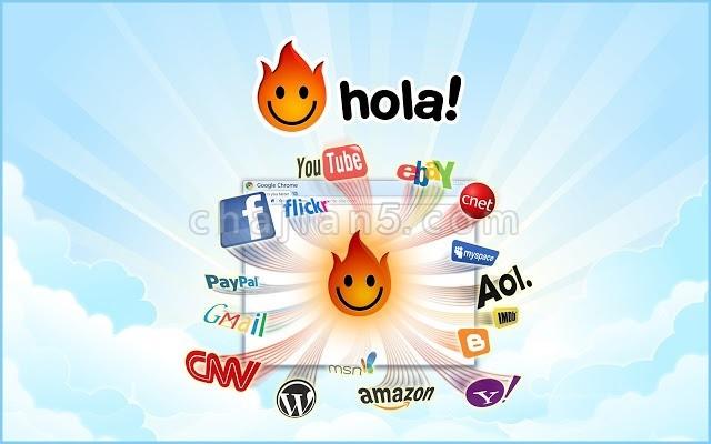 Hola Free VPN, unblock any site!