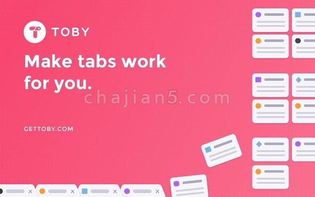 Toby for Chrome 管理标签Tab 效率提升工具