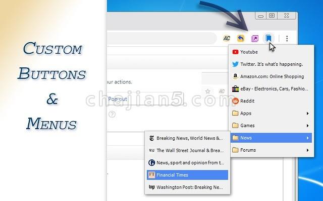 AutoControl Shortcut Manager 自定义Chrome的本地快捷方式 快捷键