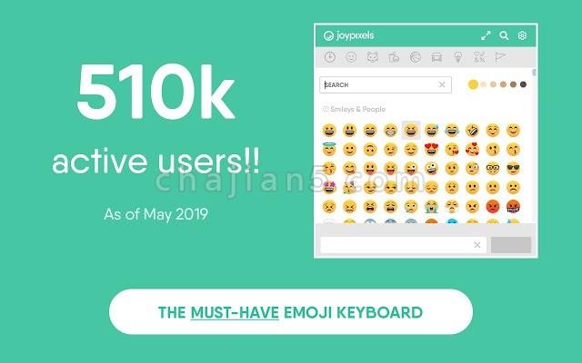 Emoji Keyboard by JoyPixels™ Chrome emoji表情符号键盘