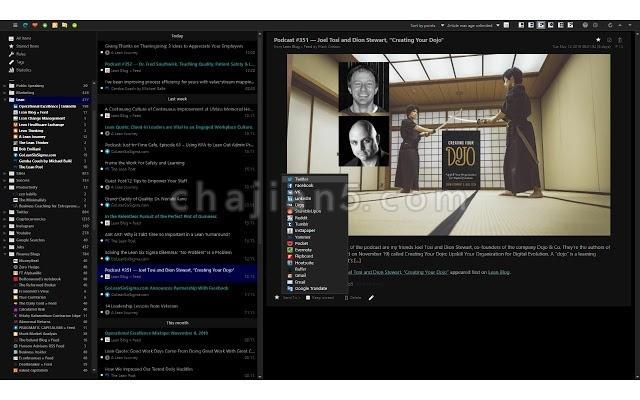 Feedbro 浏览器 RSS 阅读器 支持自动过滤规则