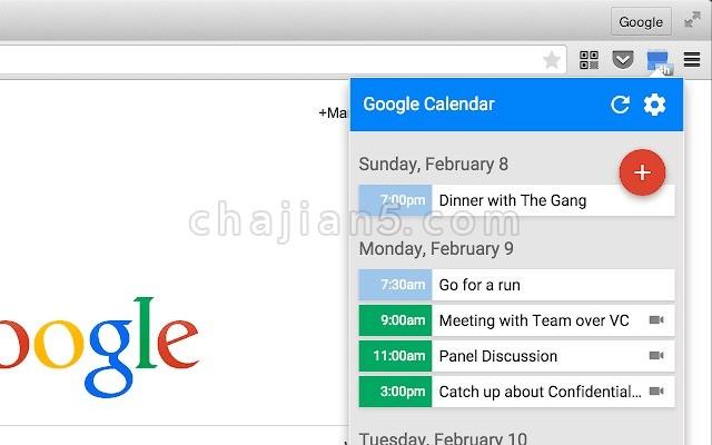 Google Calendar 谷歌日历