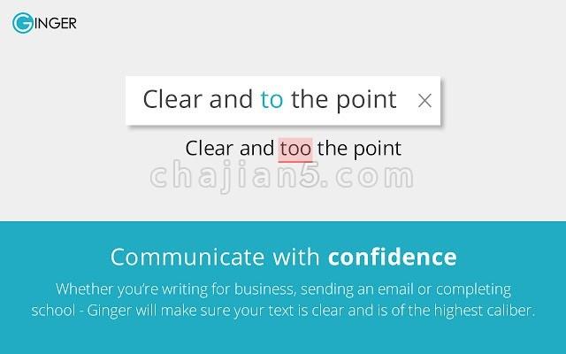 Grammar and Spelling checker by Ginger 语法及拼写检查 英语写作加强