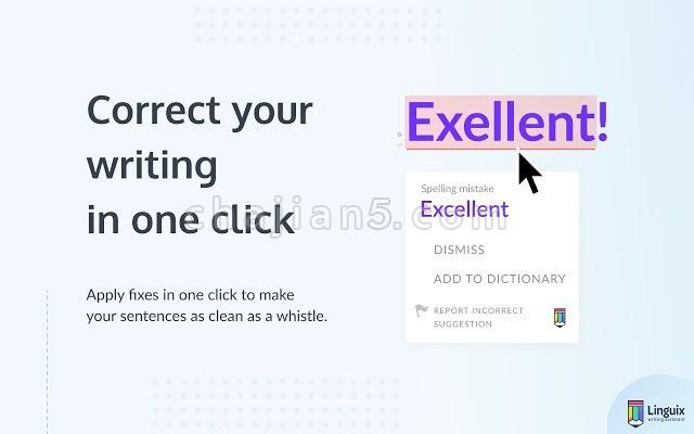 Linguix Grammar and Spell Checker 英语语法与拼写检查
