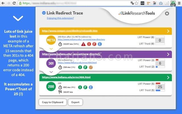 Link Redirect Trace 监测链接重定向的SEO插件