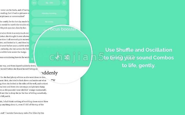 Noisli 浏览网页时随时播放背景音乐