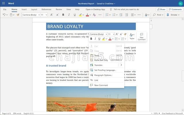 Office Online 复制和粘贴 (在 Office Online 中使用剪贴板 复制和粘贴)