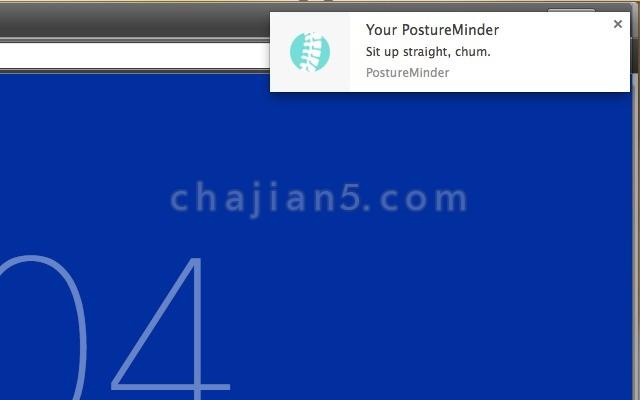 PostureMinder提醒你坐直、做眼保健操、喝水、起来上厕所的小插件