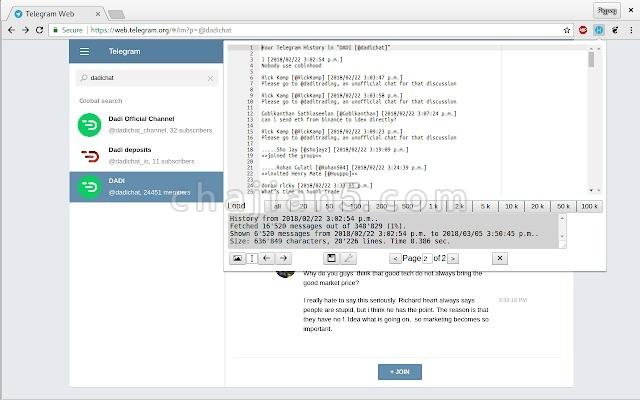 Save Telegram Chat History保存Telegram历史聊天记录