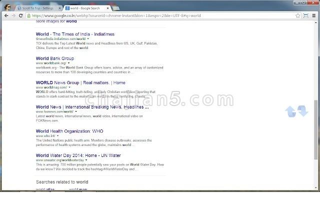 Scroll To Top 网页添加返回顶部按钮的插件