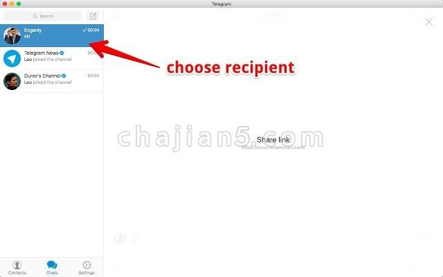 Share via Telegram 通过Telegram 一键分享当前网页