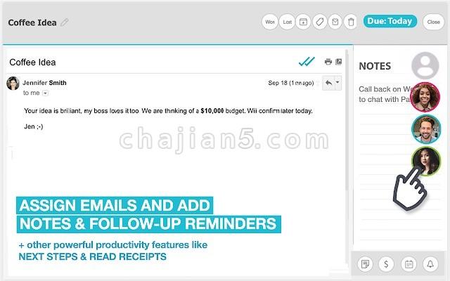 Sortd for Gmail 更方便的处理邮件事务